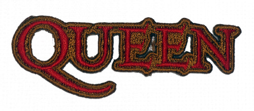 Queen Band Logo Embroidered Patch