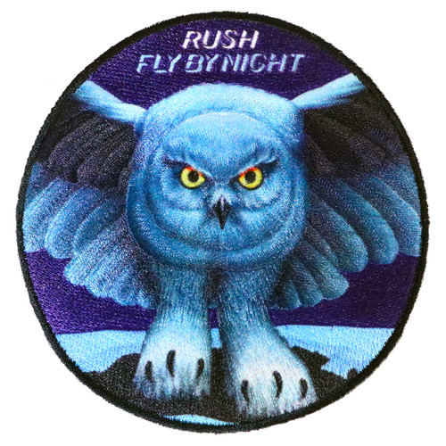 Rush Fly by Night Sew on Glue On Patch