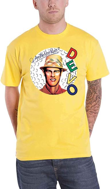 Devo Are We Not Men? Slim-Fit T-Shirt