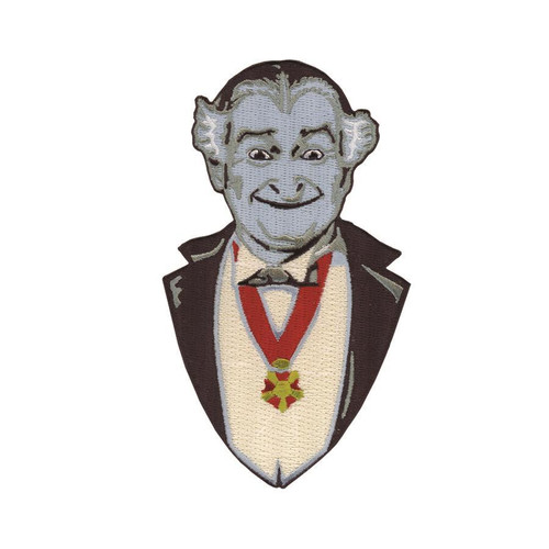 Retro A Go Go The Munsters Grandpa Munster Embroidered Patch