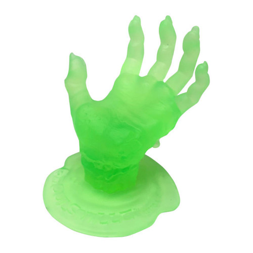Retro A Go Go Radio Active Green Zombie Display Hand