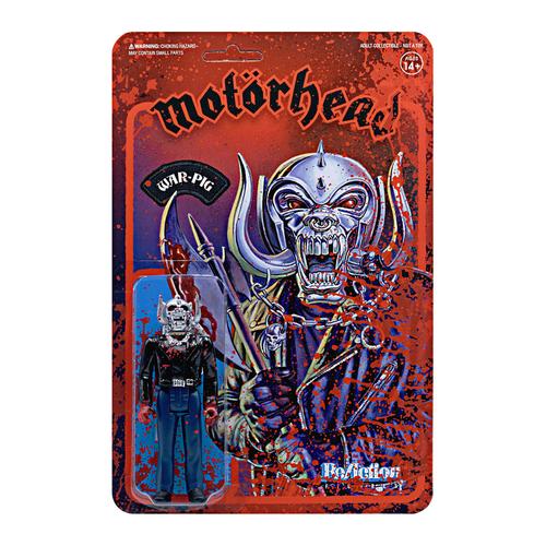 "Super7 Motorhead Bloody Warpig ReAction Figure 3.75"""