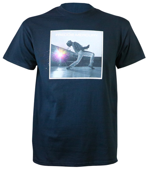 Authentic Freddie Mercury Pastel Sparks T-Shirt Black
