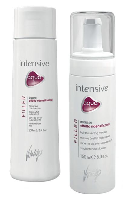Vitality's Aqua Filler Deep Filler Hair Thickening Kit