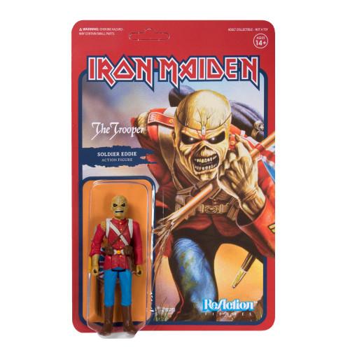 """Super7 Iron Maiden The Trooper Eddie ReAction Figure 3.75"""""""
