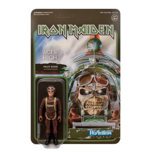 """Super7 Iron Maiden Aces High Eddie ReAction Figure 3.75"""""""