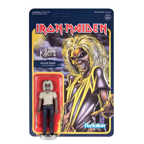 "Super7 Iron Maiden Killers Eddie ReAction Figure 3.75"""