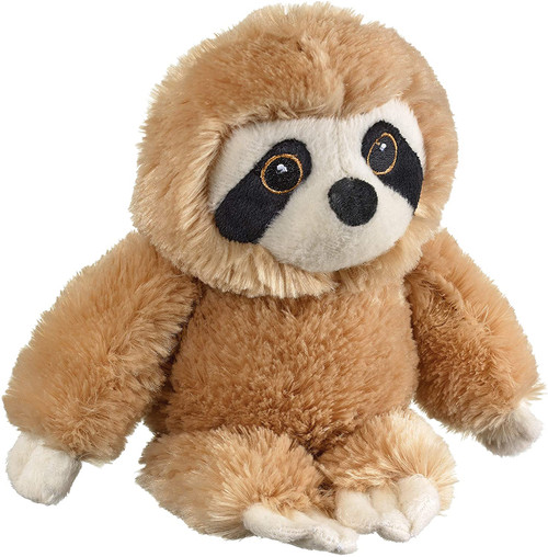 """Eco Pals Sloth 8"""" by Wildlife Artists Eco-Friendly Stuffed Animal Plush Toy, Made from 100% Post-Consumer and Recycled Materials"""