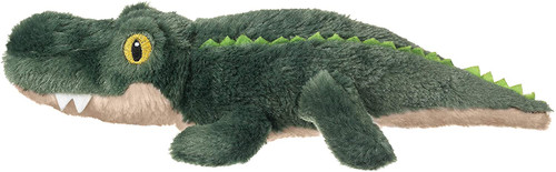 """Eco Pals Alligator 13"""" by Wildlife Artists Eco-Friendly Stuffed Animal Plush Toy, Made from 100% Post-Consumer and Recycled Materials"""