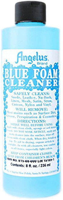 ANGELUS Blue Foam Fabric Cleaner 8 oz
