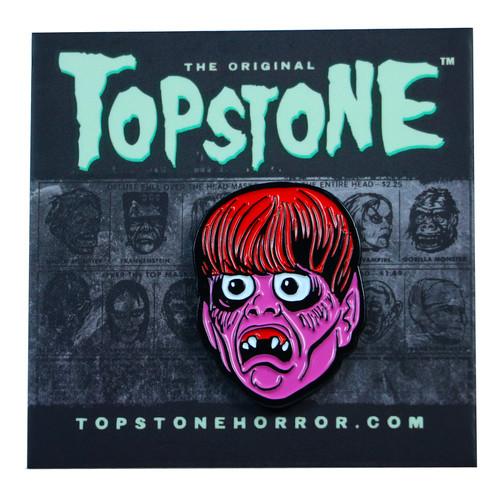 Topstone Horror Creep Beat Enamel Pin