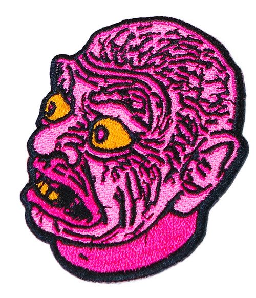 """Topstone Horror Lagoon Monster Retro Horror Halloween Embroidered Patch 3"""" x 3.5"""""""