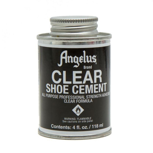 Angelus Clear Shoe Cement All Purpose Glue 4 ounce