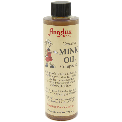 Angelus Mink Oil Compound Leather Waterproofing and Preserve 8 oz