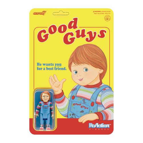 "Super7 Child's Play Good Guys Chucky ReAction Figure 3.75"""