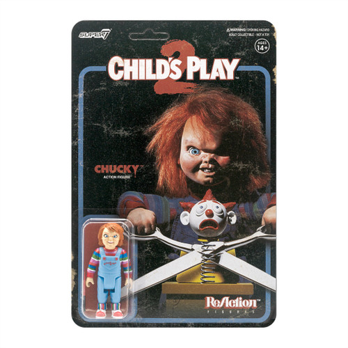 "Super7 Child's Play 2 Evil Chucky ReAction Figure 3.75"""