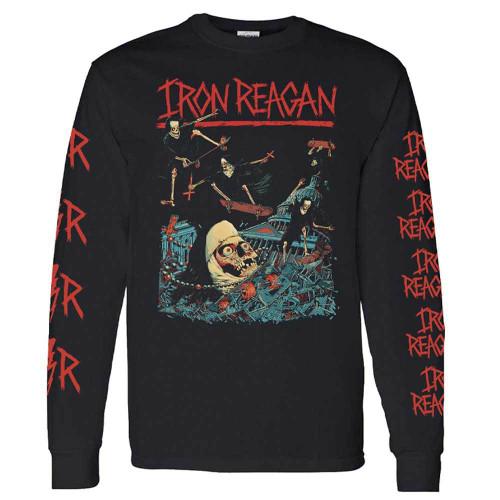 Iron Reagan Skating Nuns Long Sleeve T-Shirt