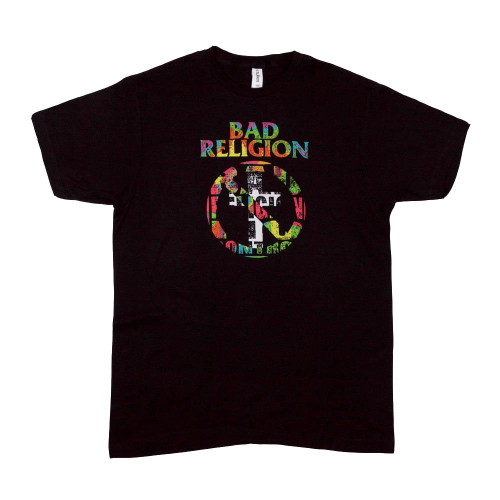 Bad Religion Men's No Control Buster T-Shirt Black