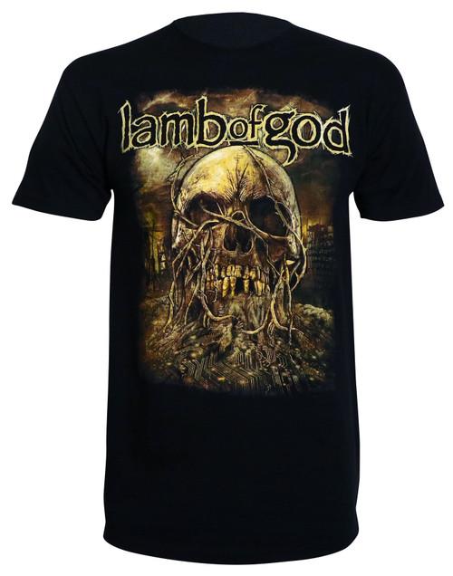 Lamb of God Men's Vineskull T-Shirt Black
