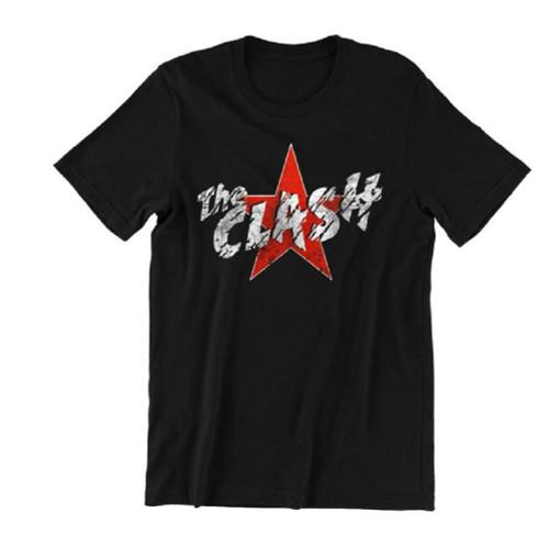 The Clash Men's Star Logo T-Shirt Black