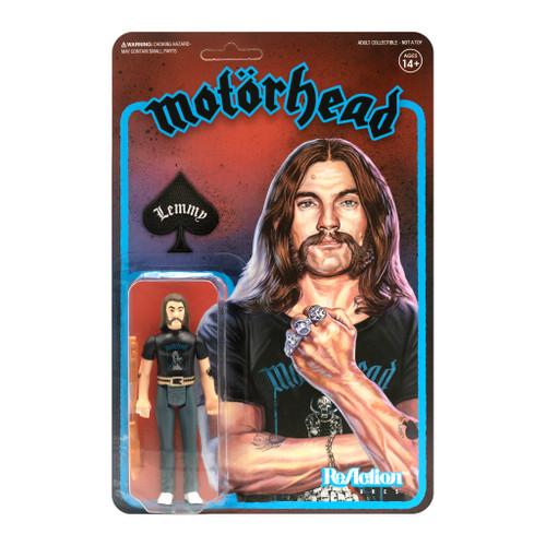 "Super7 Motorhead Lemmy Recolor ReAction Figure 3.75"""