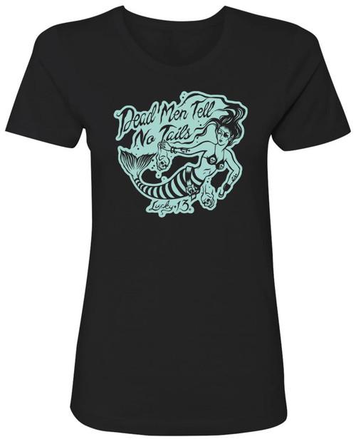 Lucky 13 Women's Dead Men T-Shirt