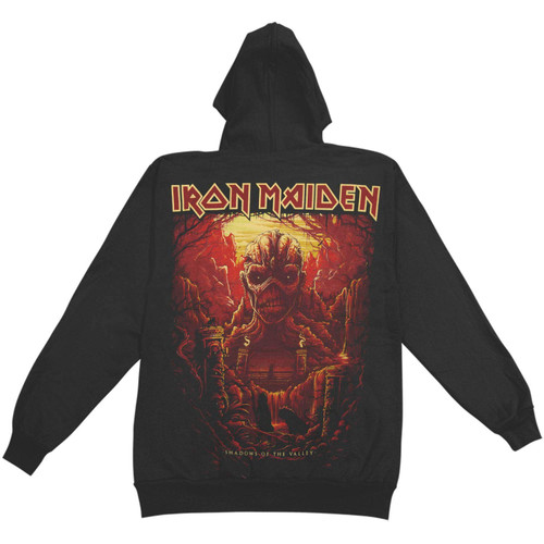 Iron Maiden Acme Shadows of The Valley Pullover Hoodie