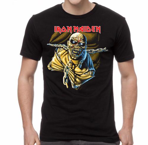 Iron Maiden POM Black Overdye T-Shirt