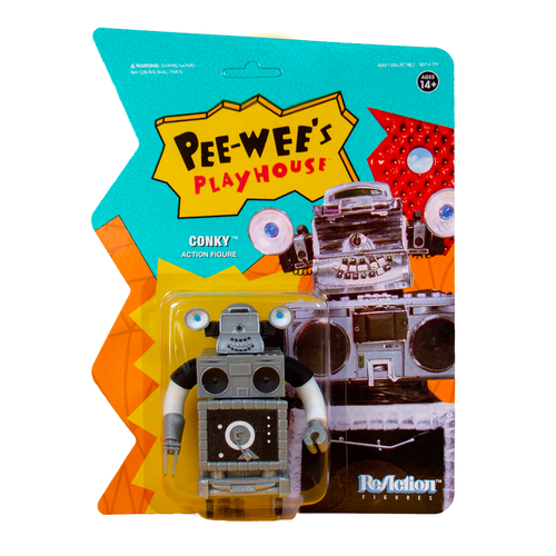 """Super7 Pee-wee's Playhouse Conky ReAction Figure 3.75"""""""