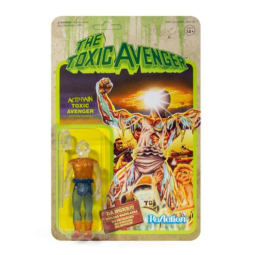 """Super7 Toxic Avenger Acid Rain ReAction Figure 3.75"""""""