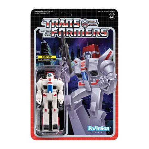 Super7 Transformers ReAction Skyfire Figure 3.75""