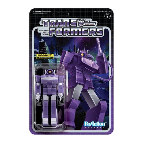 """Super7 Transformers ReAction Shockwave Figure 3.75"""""""