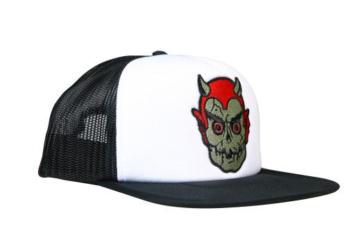 Topstone Horror Graveyard Devil Patch Snapback Trucker Hat