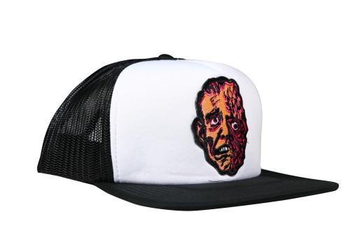 Topstone Horror Horrible Melting Man Patch Snapback Trucker Hat