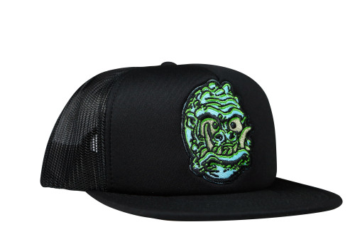 Topstone Horror Saber Toothed Space Man Patch Snapback Trucker Hat