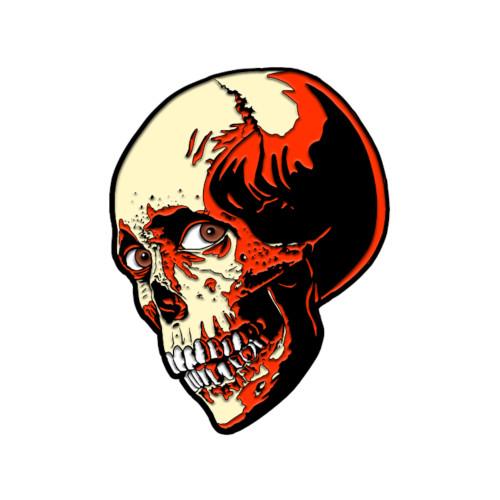Trick or Treat Studios Evil Dead 2 Poster Skull Enamel Pin