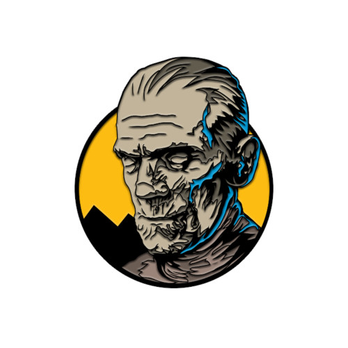 Trick or Treat Studios Universal Monsters Imhotep The Mummy Enamel Pin