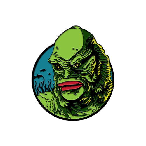Trick or Treat Studios Universal Monsters Creature From the Black Lagoon Enamel Pin