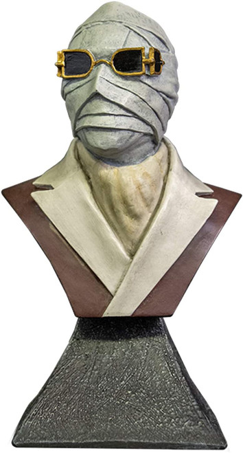 """Trick Or Treat Studios The Invisible Man Mini Bust 5"""""""