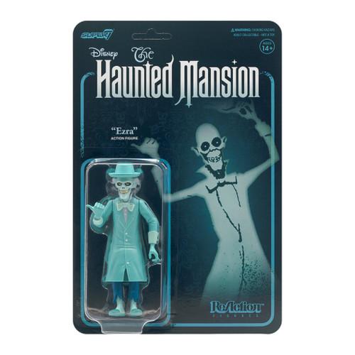 "Super7 Disney Haunted Mansion Ezra Skeleton Ghost ReAction Figure 3.75"""