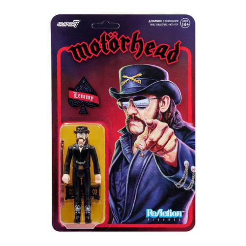 "Super7 Motorhead Lemmy Modern Cowboy ReAction Figure 3.75"""