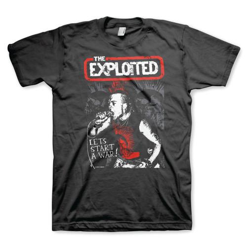 The Exploited Lets Start A War T-Shirt