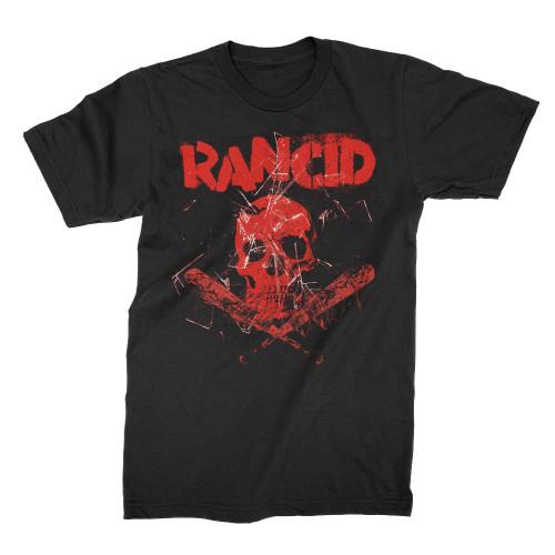 Rancid Skull Bats T-Shirt