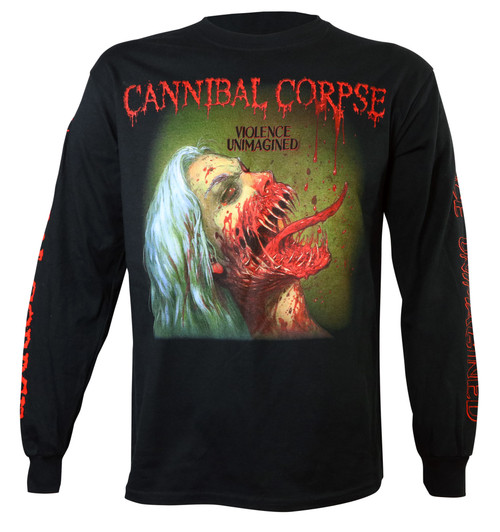 Cannibal Corpse Violence Unimagined Long Sleeve T-Shirt