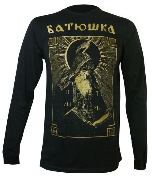 Batushka Men's Shema Monk Long Sleeve T-Shirt