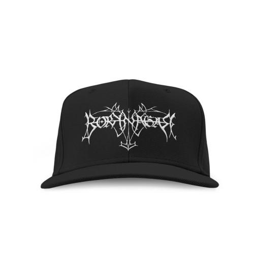 Borknagar Logo Snapback Hat Black
