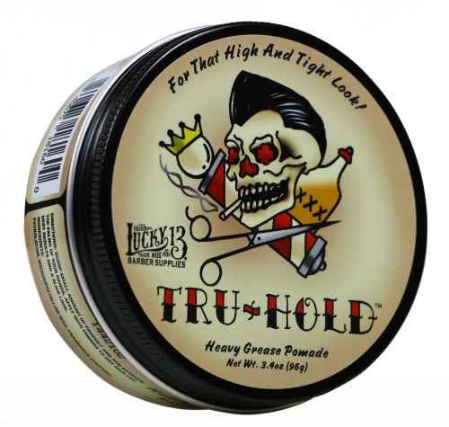 Lucky 13 Tru-Hold Heavy Grease Pomade 3.4oz