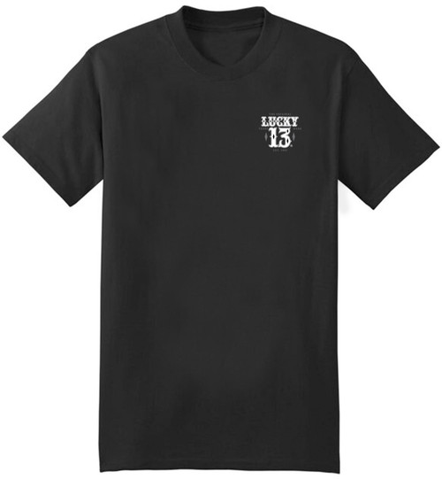 Lucky 13 Knife Fight T-Shirt