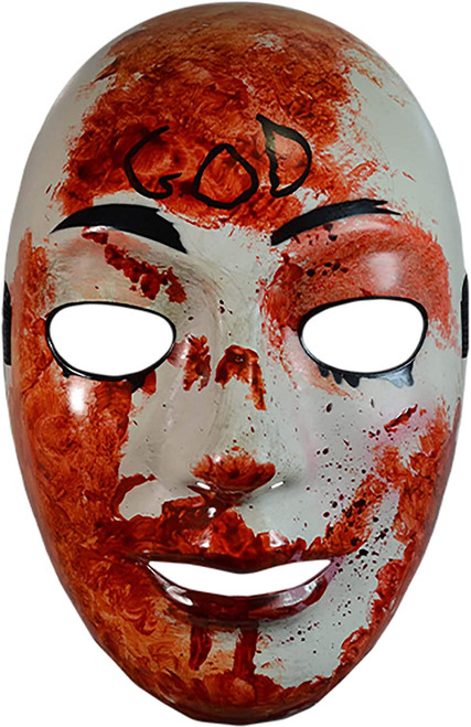 Trick or Treat Studios The Purge Television Series Bloody God Mask