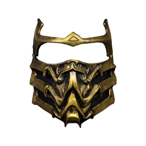 Trick or Treat Studios Mortal Kombat Scorpion Mask